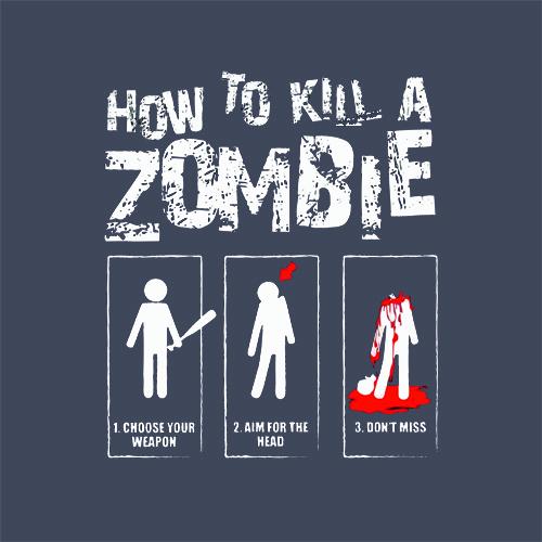 kill a zombie