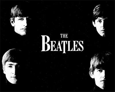 Beatles-fondo-negro
