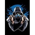 Graffiti-Gasmask