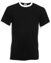 camiseta m/c contraste