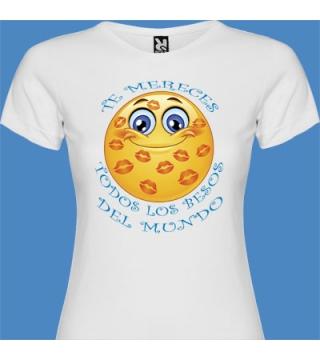 Camiseta Todos los besos