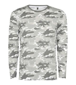 Camiseta camuflaje manga larga