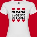 Camiseta Mi mamá es la mas bonita de todas